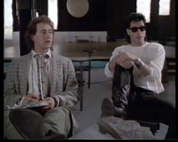 Arye Gross & John Travolta in The Experts