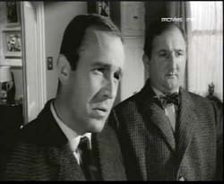 Ian Hendry and Ronald Fraser  in Girl In The Headlines