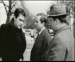 Jeremy Brett, Ian Hendry and Ronald Fraser  in Girl In The Headlines