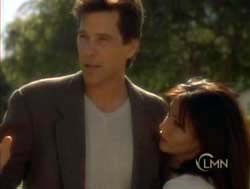 Tim Matheson and Shannen Doherty in Sleeping With The Devil