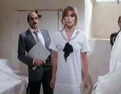 David Suchet and Margot Kidder in Trenchcoat