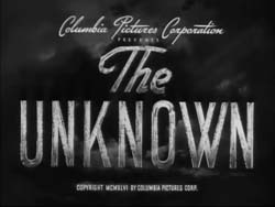 The Unknown - 1946