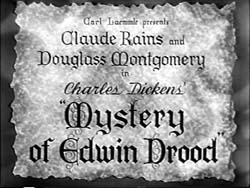 Mystery Of Edwin Drood - 1935