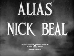 Alias Nick Beal - 1949