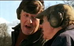 Stephen Fry & John Bird  in In The Red