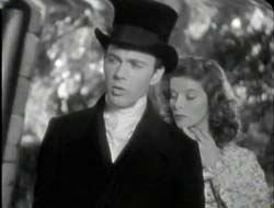 John Beal and Katharine Hepburn in The Little Minister