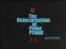 The Reincarnation Of Peter Proud - 1975