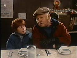Mickey Rooney in It Came Upon The Midnight Clear - 1984