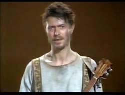 David Bowie in Baal - 1982