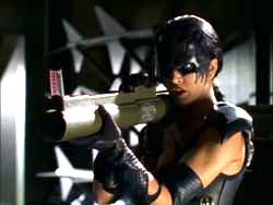 Michelle Lintel as Black Scorpion