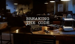 Breaking The Code - 1996