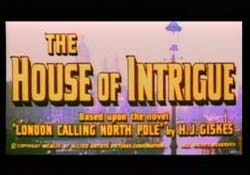 The House Of Intrigue - 1956