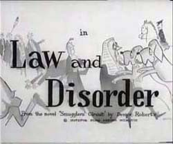 Law And Disorder - 1958