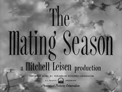 The Mating Season - 1951