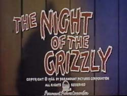 The Night Of The Grizzly - 1966