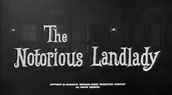 The Notorious Landlady - 1962
