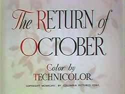 The Return Of October - 1948