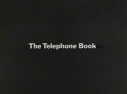 The Telephone Book - 1971