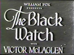 The Black Watch - 1929