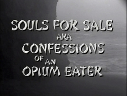 Confessions Of An Opium Eater - 1962