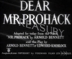 Dear Mr. Prohack (1949)