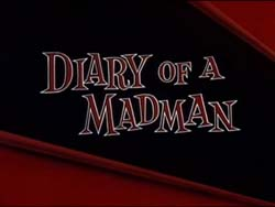 Diary Of A Madman - 1963