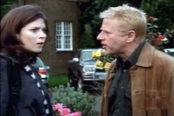Anna Friel and Phil Davis in Fields Of Gold