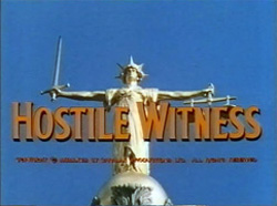 Hostile Witness - 1968