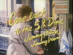 Come Back To The Five And Dime, Jimmy Dean, Jimmy Dean - 1982