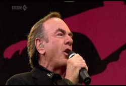 Neil Diamond at Glastonbury - 2008