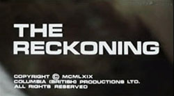 The Reckoning - 1969