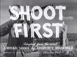 Shoot First - 1953