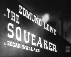 The Squeaker - 1937
