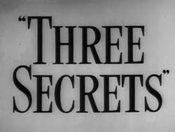 Three Secrets - 1950