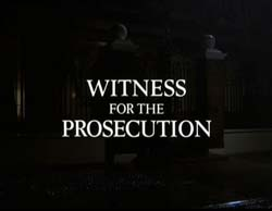Witness For The Prosecution - 1982
