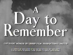 A Day To Remember - 1953