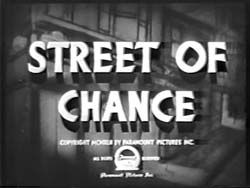 Street Of Chance - 1942