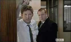 Adrian Dunbar and Ray Winstone in Tough Love