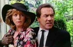 Alison Steadman and Robert Lindsay  in The Wimbledon Poisoner - 1994