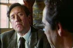 Philip Jackson and Robert Lindsay in The Wimbledon Poisoner - 1994